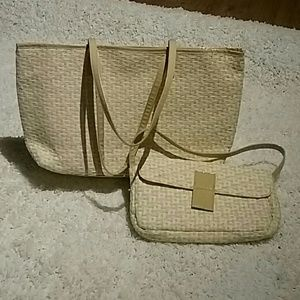 46d8d9fabd0b Seems New Jessica Simpson Tote and Hand Bag Set 👜